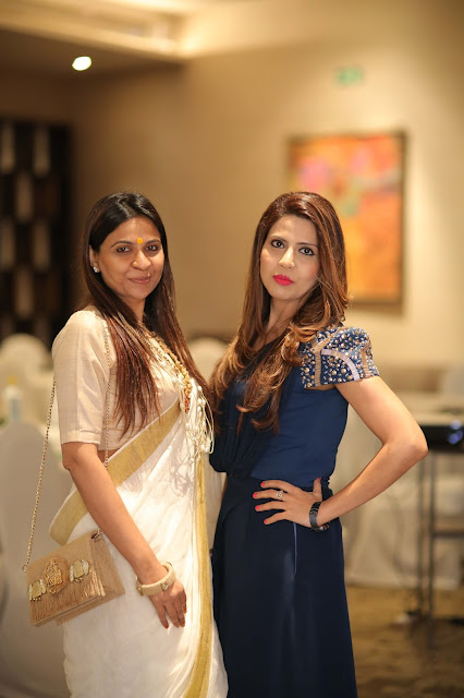 (left to Right) Nidhi Jain From Sampporna Dr Geetika Chopra