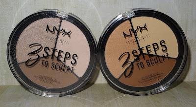 Review NYX 3 Steps To Sculp Face Palette