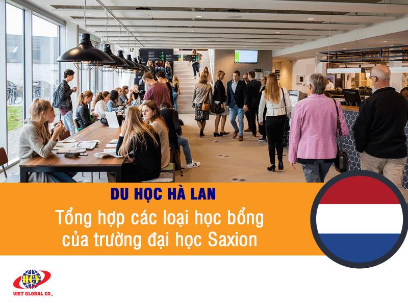 Du học Hà Lan: Tổng hợp các loại học bổng của trường đại học Saxion