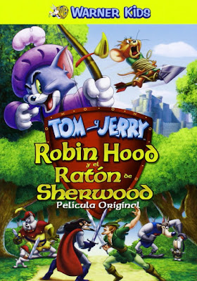 Tom And Jerry Robin Hood And His Merry Mouse 2012 DVD R2 PAL Spanish