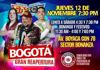 Circo de Los Hermanos Gasca Bogotá Colombia