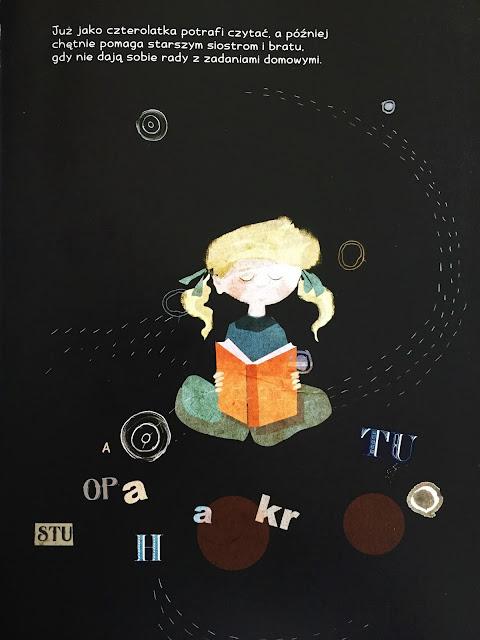 """Recenzja #173 - """"Maria Skłodowska-Curie. Światło w ciemności"""" - przykładowa strona 1 - Francuski przy kawie"""