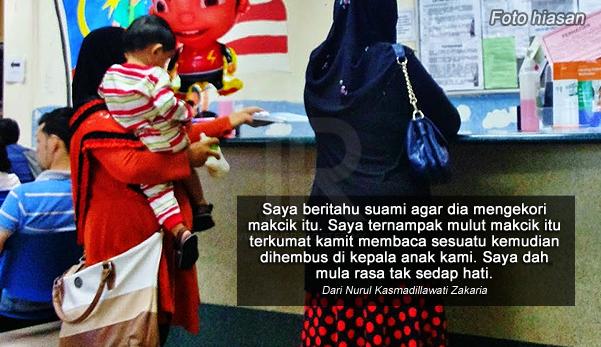 'Anak mengamuk & meracau selepas didukung makcik itu, rupanya dia lepaskan 'saka' pada anak kami'