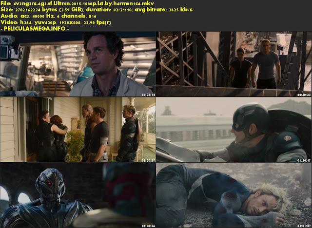 Descargar Avengers: Era de Ultrón Latino por MEGA.