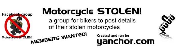Motorcycle STOLEN JAN 2014 | Motorcycle STOLEN