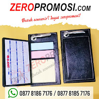 Barang Promosi Sticky Notes 304 + holder pen, Souvenir Memo Post It