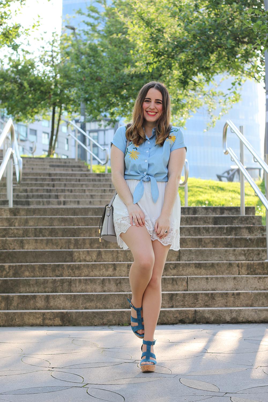 Outfit Falda Blanca Invierno