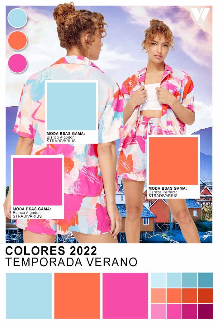 paleta de colores de moda primavera verano 2022