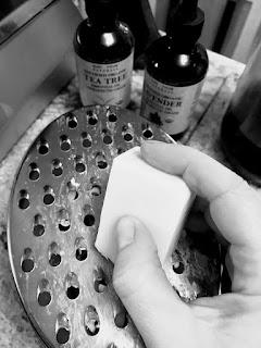 Making a DIY Hand Scrub