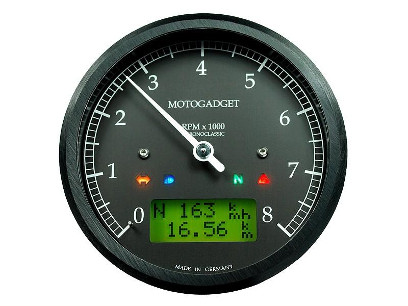 Racing Caf U00e8  Motogadget  U0026quot Analog Tacho Classic U0026quot  Series