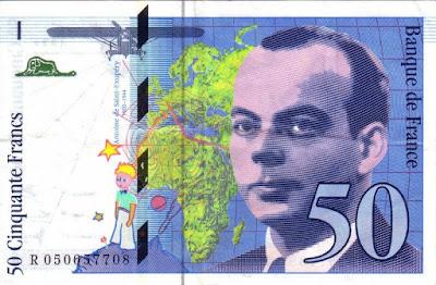 Los 50 francos de Antoine de Saint-Exupéry y El Principito - Cine de Escritor