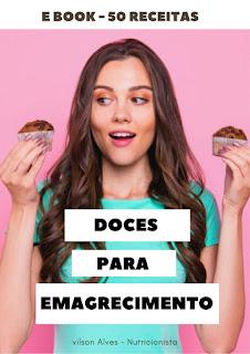 mulher comendo doces fitness para emagrecimento