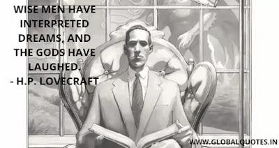 H.P. Lovecraft Quotes