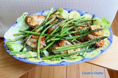 Carole's Chatter: Honey Lemon Chicken w Asparagus