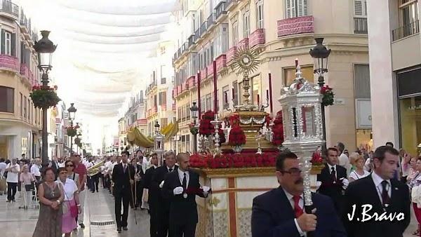 Horario e Itinerario de la Procesión Sacramental de la Archicofradía de los Dolores de San Juan de Málaga hoy Sábado