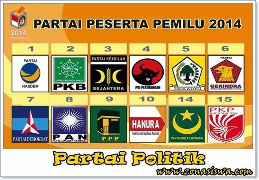 Partai Politik | www.zonasiswa.com
