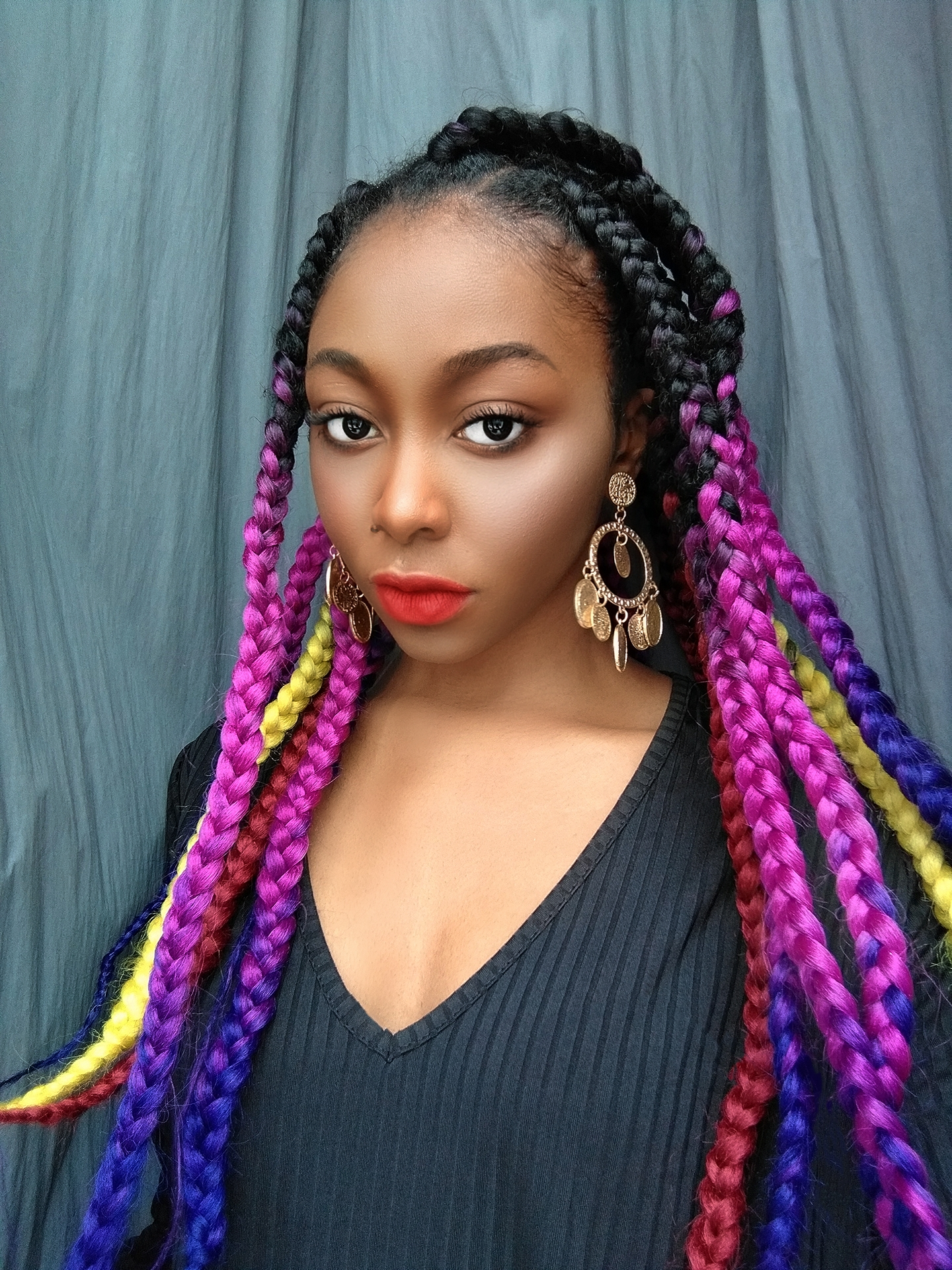 How to combine braid colors