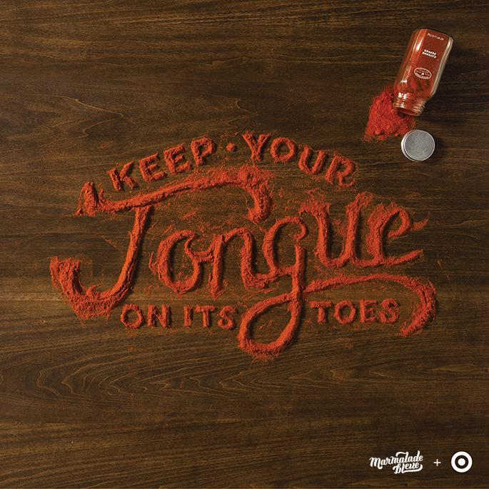 tipografia organica com alimentos 14 - Tipografia Orgânica com Alimentos
