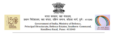 Defence  Estates Pune Sub Divisional Officer Previous Papers and Syllabus in Hindi