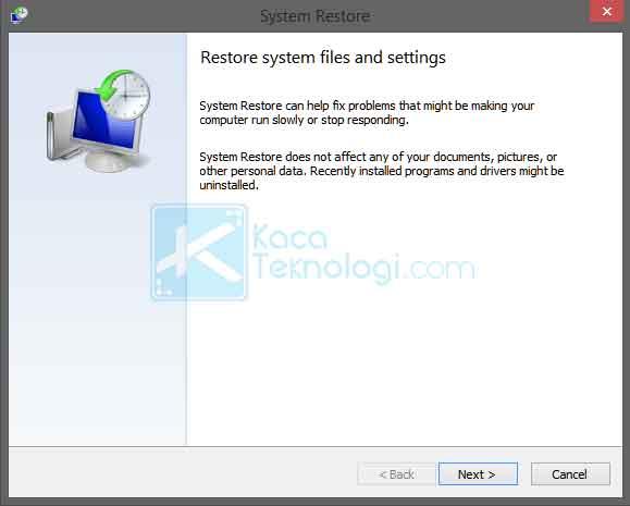 Apa itu restore point? bagaimana cara membuat restore point dan restore/mengembalikan windows 7,8,10 ke tanggal tertentu dan melalui BIOS. Lalu bagaimana cara mengembalikan system restore yang hilang dan lama saat proses dengan mudah.