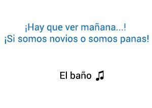 Significado de la canción El Baño Enrique Iglesias Bad Bunny.