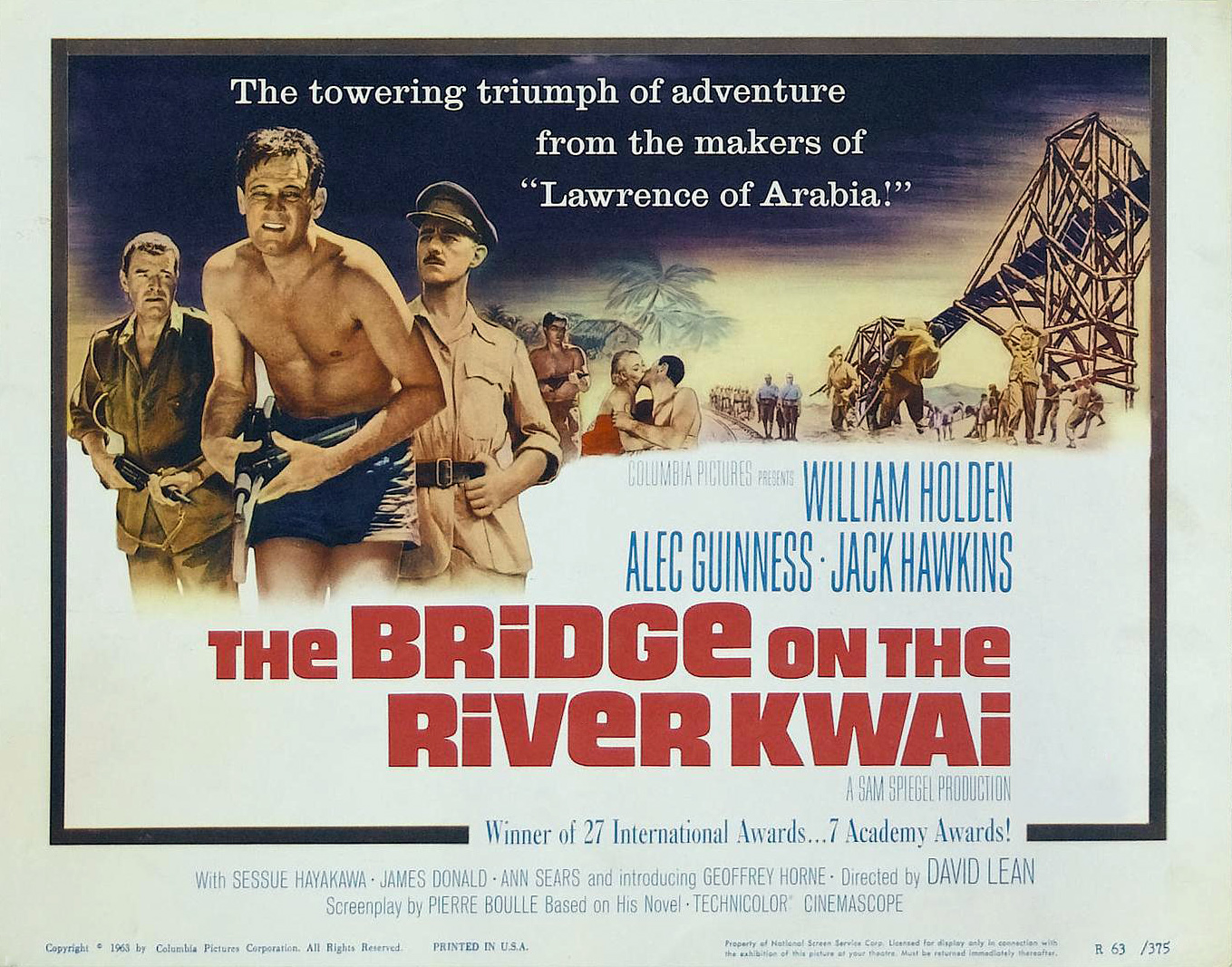 Sri Lanka to rebuild Bridge On The River Kwai | Daily Mail ... |The Bridge On The River Kwai (1957)