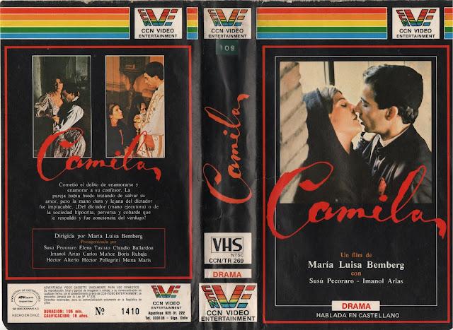 """Pelicula: """"Camila"""" (1984)"""