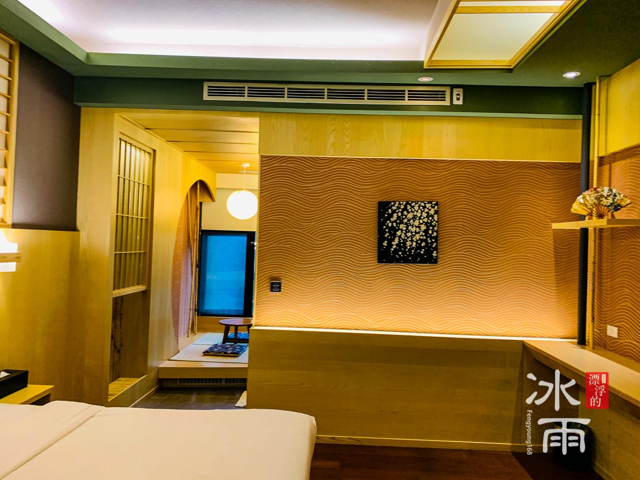 泰安湯悅溫泉會館|雙人房室內