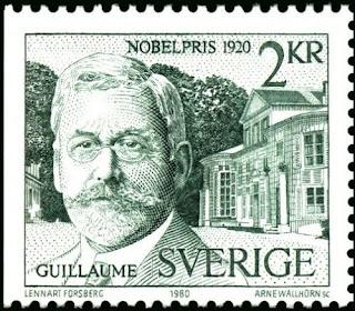 Sweden 1980 Charles Edouard Guillaume