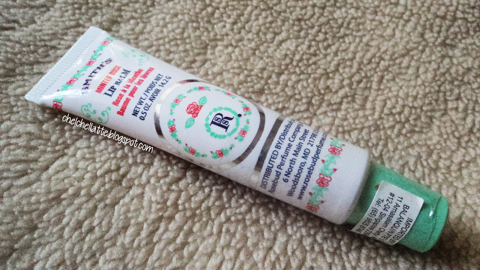 Minted Rose Lip Balm by Rosebud Perfume Co. #5