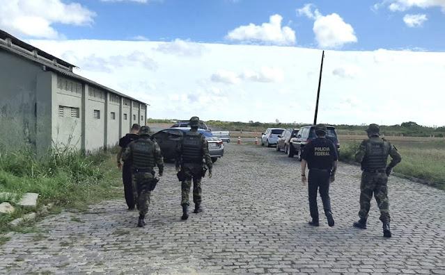 Operação conjunta da PF e PM combate organização criminosa composta por servidores públicos no RN