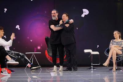 Lobão e Raul Gil (Foto: Rodrigo Belentani)