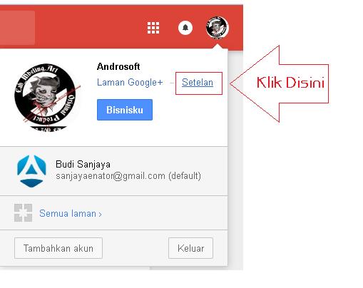 Cara Hapus Laman Google Plus