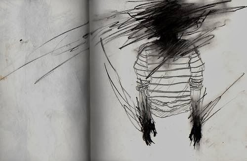 Drawings Sadness And Dark: Paula Abigail