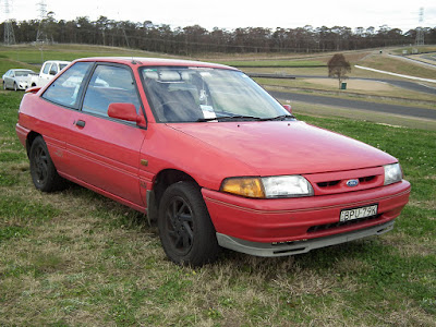 Ford Laser TX3 Turbo 4WD