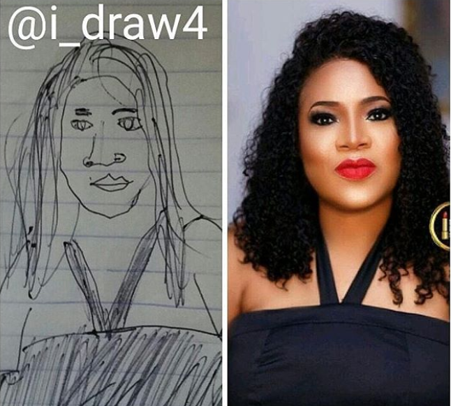 Checkout this Toyin Aimakhu IG artwork