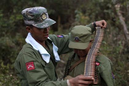 Belum Datang ke Aceh, Puluhan Tentara Myanmar Sudah Tewas Duluan oleh Suku Pemberontak di Perbatasan Cina
