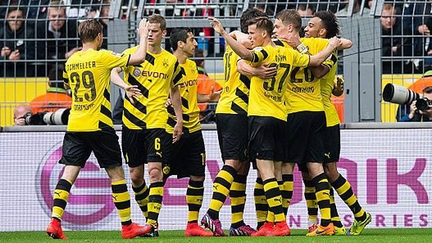 Assistir  Borussia Dortmund x Frankfurt AO VIVO Grátis em HD 15/04/2017