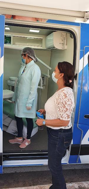 """*Vereadora Carmélia confere lançamento do projeto """"Por um sorriso mais alegre"""", em Barreiras*"""