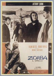 la locandina italiana del film diretto da Cacoyannis