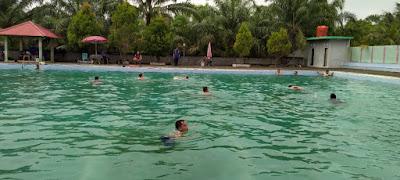 Puluhan Personil Damkar Tebo Disuruh Nyebur Kolam