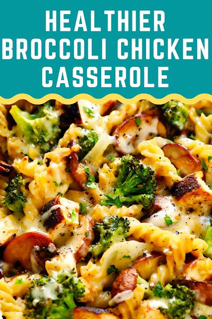Healthier Broccoli Chicken Casserole