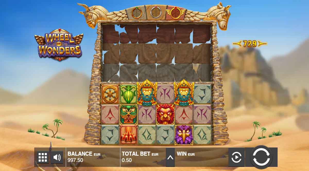 Wheel of Wonders - Demo Slot Online Push Gaming Indonesia
