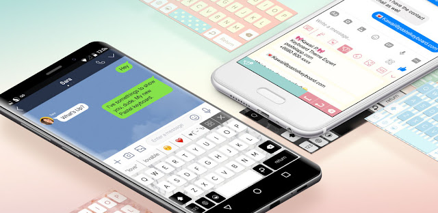 pastel keyboard themes color apk