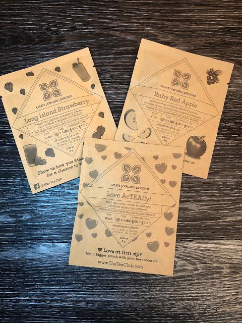 Dollar Tea Club 3 Samples for 1$ February Haul (Explorer Subscription)