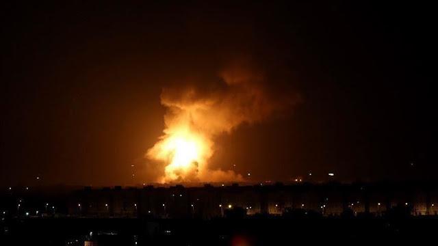 الحرس الثوري الإيراني يقصف قاعدة عسكرية أمريكية بصواريخ بالستية انتقاماً لقاسم سليماني