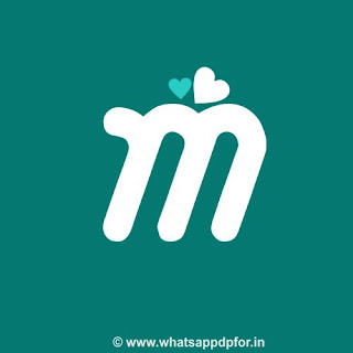 m letter love images