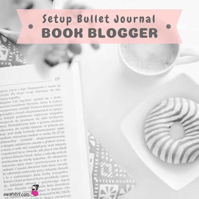 bullet journal for book blogger