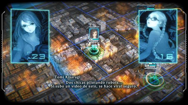 Ánalisis 13 Sentinels: Aegis Rim  para PS4 Combate