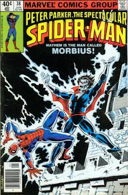 Spectacular Spider-Man #38, Morbius